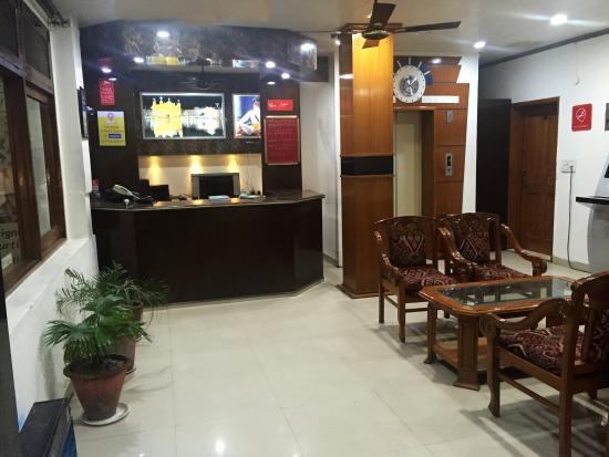 Hotel Veenus International: reception