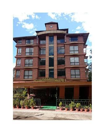 Archana Residency Munnar: Hotel Location
