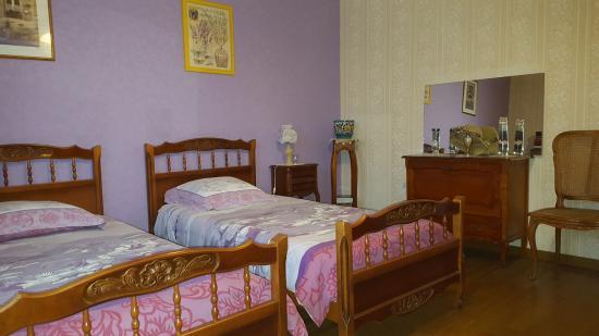 Les Petites-Loges, France: chambre complémentaire  2 lits simples