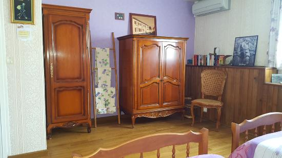 Les Petites-Loges, Frankrike: chambre complémentaire  2 lits simples