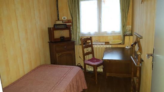 Les Petites-Loges, France: chambrette 1 lit simple