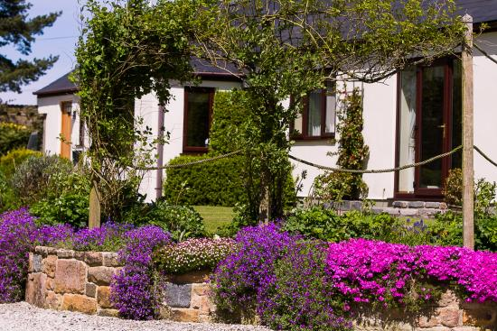 Silver Ridge Bed & Breakfast: lovely Gardens