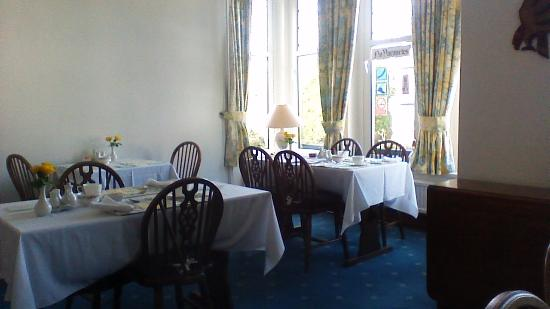 Briton Ferry, UK: Dining Room