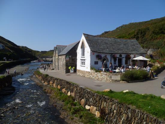 Boscastle, UK: The view around the visitors centre