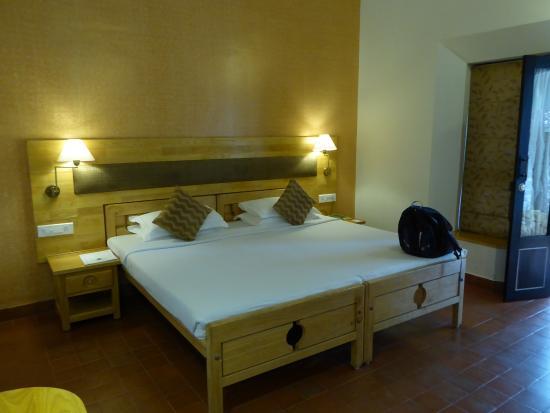 Hotel Treetop: The bedroom