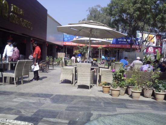70 Mile Dhabha : nice sitting arrangements