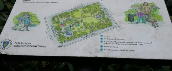 tegnerlunden karta памятник Стриндбергу   Изображение Tegnérlunden, Стокгольм  tegnerlunden karta