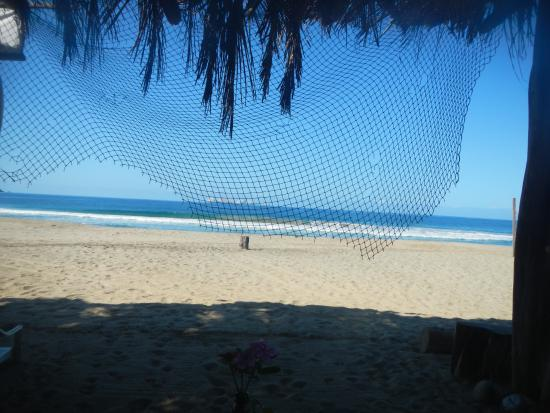 Playa Blanca, México: Another view from the restaurant