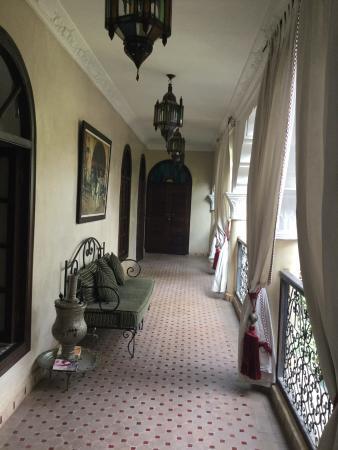 Riad Nabila: couloir