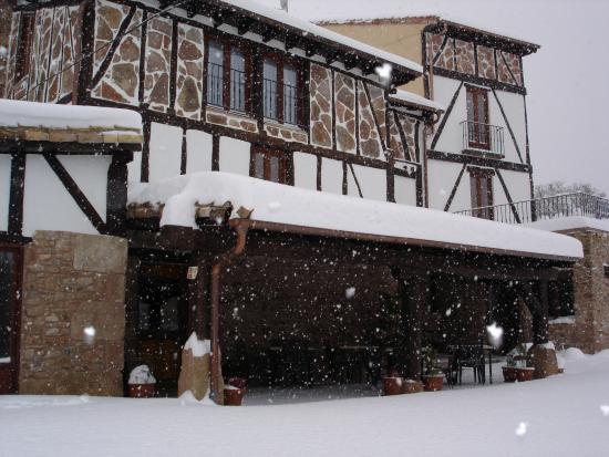 La Casona del Pastor: Nieve