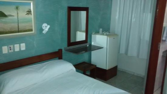 Pousada Porto Do Itaguá : suite casal
