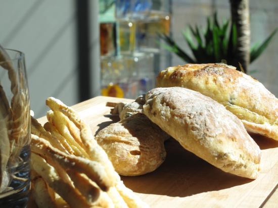 Ristorante Tilia: Pane fatto in casa