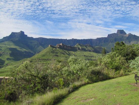 uKhahlamba-Drakensberg Park, Sydafrika: The Amphitheatre