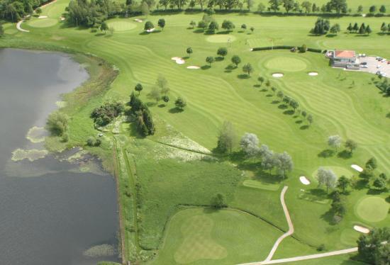 Aboyne Golf Club: Ariel overview