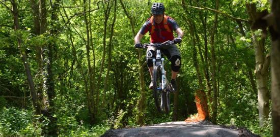 West Bromwich, UK: The Miner's Trail MTB track in Sandwell - FREE!