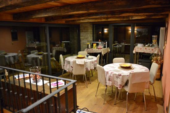 Scopa, Italia: la sala delle colazioni.. bellissima