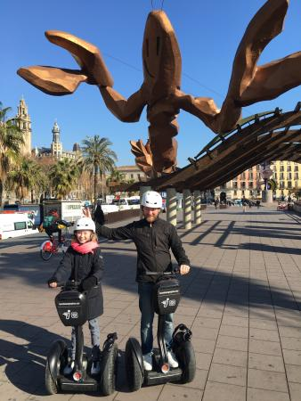 Barcelona Segway Tour - Picture of Barcelona Segway Tour ...