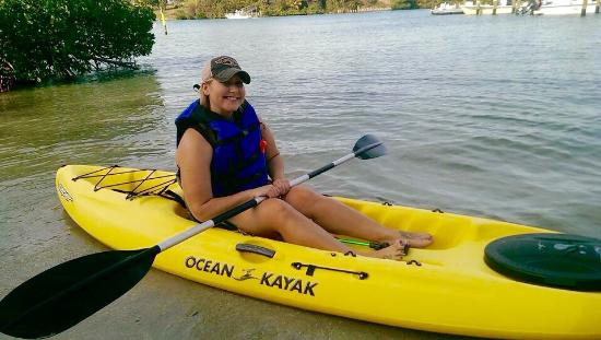 Jupiter, Flórida: Such a fun place with a great staff! We saw manatee and turtles my first time out. I can't wait