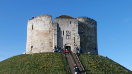 North Yorkshire, UK: Clifford's Tower.