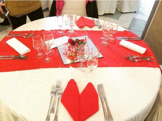 San Valentino Tavolo.Tavolo Addobbato Per San Valentino Picture Of Ristorante