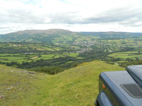 This is from the top of Hillside Llangattock. So peaceful.