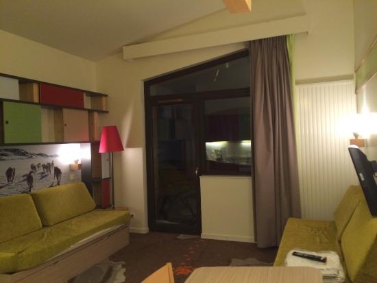 Apartamentos Pierre & Vacances Electra: Lounge area in our apartment