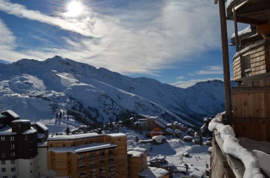 Apartamentos Pierre & Vacances Electra: View from Balcony