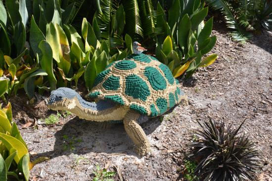 Superieur Mounts Botanical Garden: Lego Sculpture Of Turtle