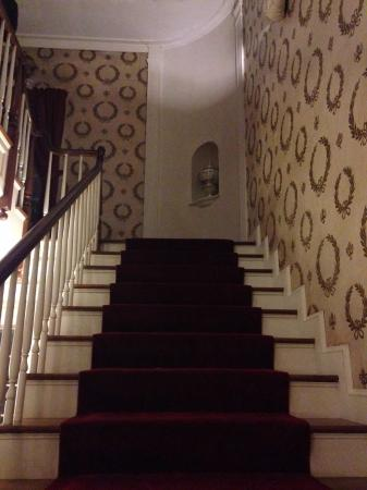 Lucas, OH: Staircase where Humphrey Bogart and Lauren Bacall were!