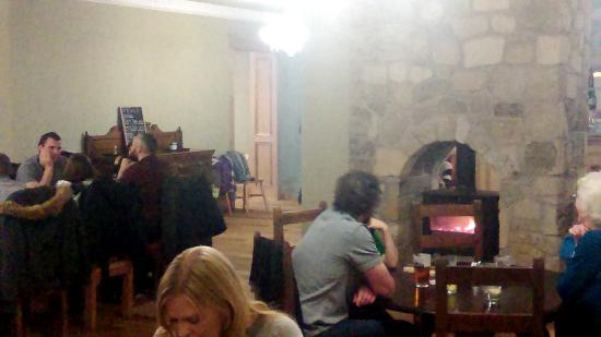 Corbie Inn: Wood Burning Stove in NextDoor Restaurant