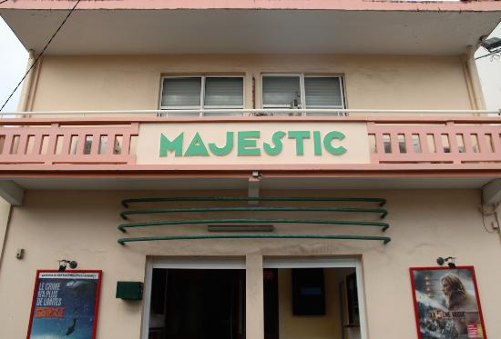Capesterre-Belle-Eau, Guadeloupe : Cinéma Le Majestic à Capesterre Belle Eau