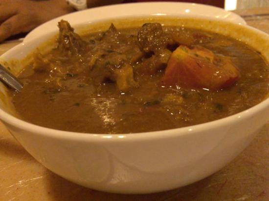 Al Kharj, Saudi Arabia: Mutton masala