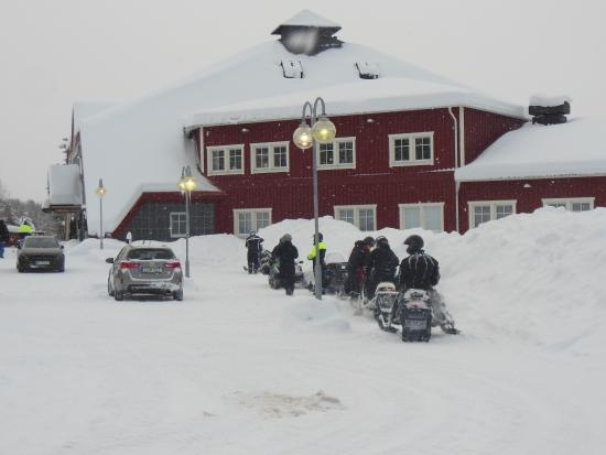 Hotell Storforsen: Parking