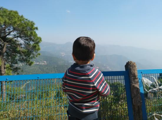 Kasauli, India: On the Way to Monkey Point