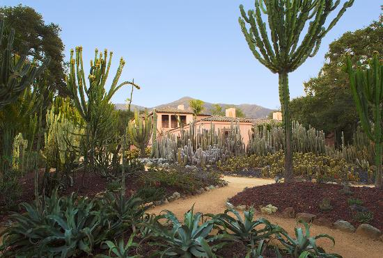 Montecito, CA: The Main House at Lotusland