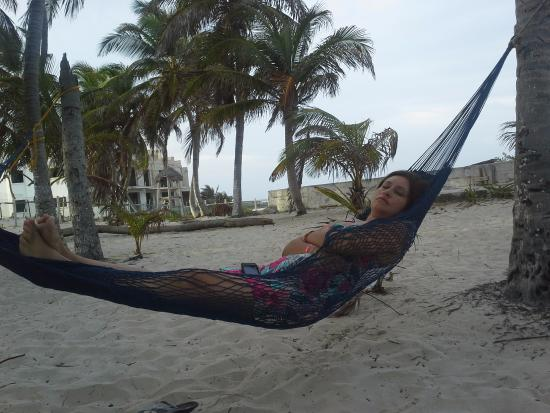 Poc-Na Hostel: Natalia Descansando