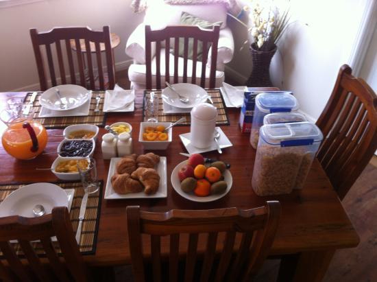 Mingary Farmstay B&B Accommodation: breakfast
