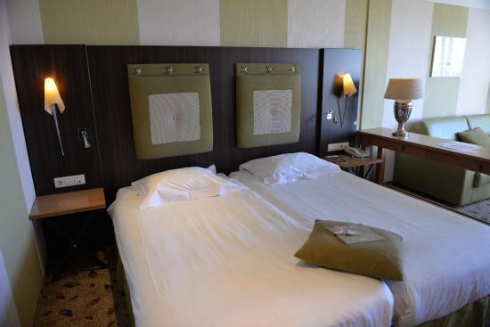Aparte bedden en heerlijke matrassen foto van grand hotel