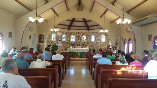 Simpson Bay, St Marteen/St. Martin: Parte interior de la Iglesia