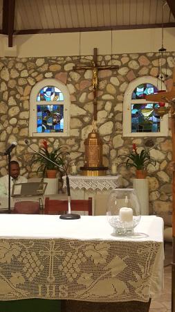 Simpson Bay, St Marteen/St. Martin: El altar