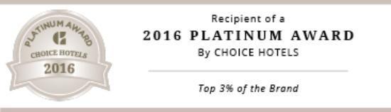 Quality Inn Oakwood: Platinum Award-Top 3% Quality Inns Nationwide