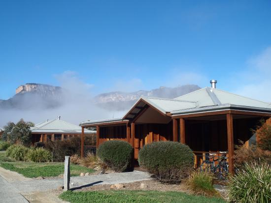Emirates One&Only Wolgan Valley: Beautiful morning.... our Bungalow....