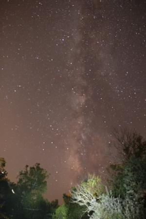 Asa Cline House Bed and Breakfast: Stargazing the Milky Way from Asa Cline House