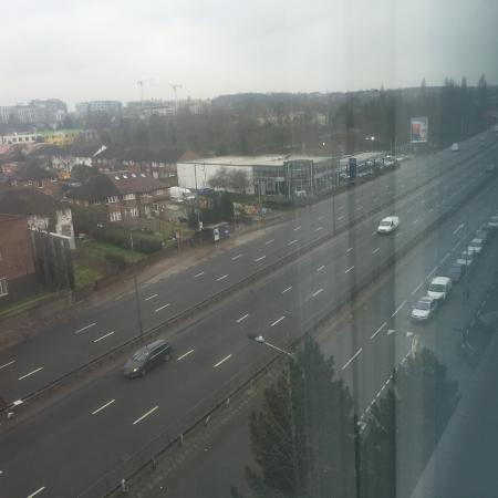 Travelodge Wembley: View of North Circular