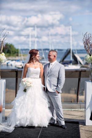 Harbour Restaurant : Photo of Jenn and Matt