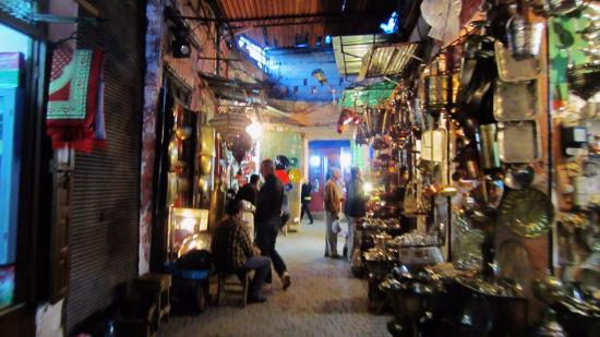 Rue Bab Doukkala Market