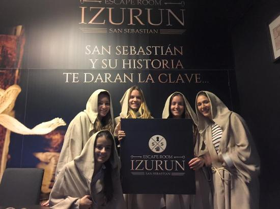 Izurun Escape Room San Sebastian