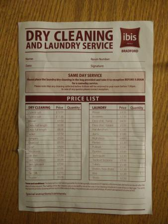 dry clean business plan