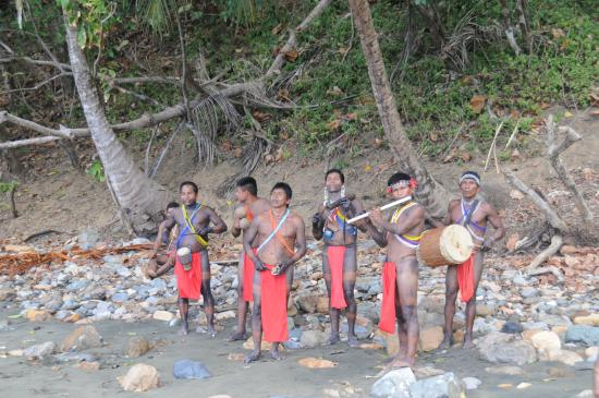 Darien Gap Panama: Musical introduction to the Embera tribe
