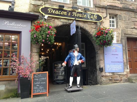 deacon s house cafe edinburgh old town restaurant reviews rh tripadvisor ie